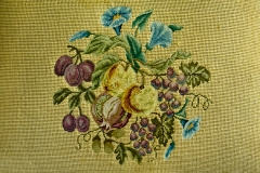 Needlepoint Seat Cushion