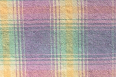 Vintage Pastel Plaid Blanket