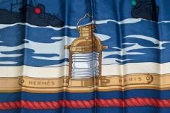 Hermes Nautical Scarf